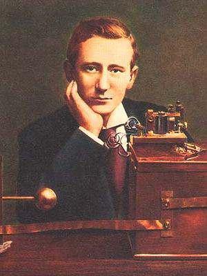 Guillermo Marconi, comunicación