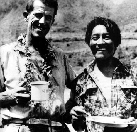 Edmund Hillary y Tensing LLegaron a la Cumbre del Everest