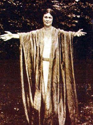 Creadora de la Danza Moderna Isadora Duncan