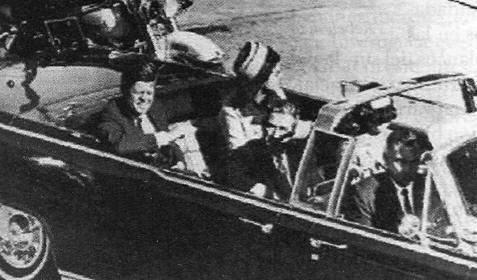 Kennedy en Dallas dia de su asesinato