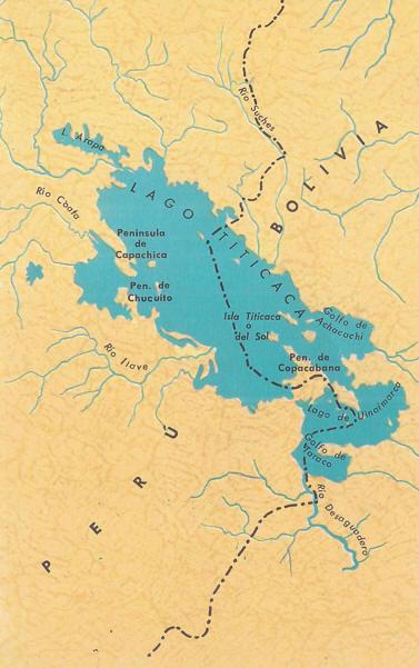 Lago Titicaca Bolivia Caracteristicas Ubicacion
