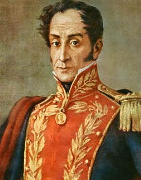 Independencia de Sudamerica Libertadores San Martin Bolivar ...