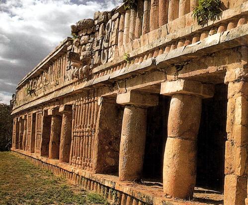 Los mayas organizacion social economica religion y for Civilizacion maya arquitectura