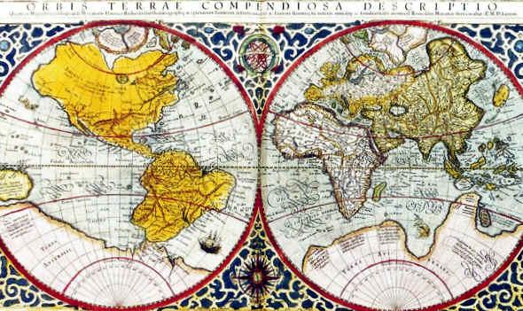 primeros mapas del mundo