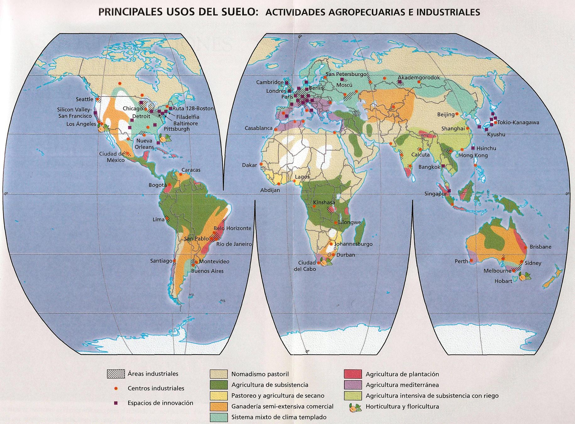 mapa uso del suelo