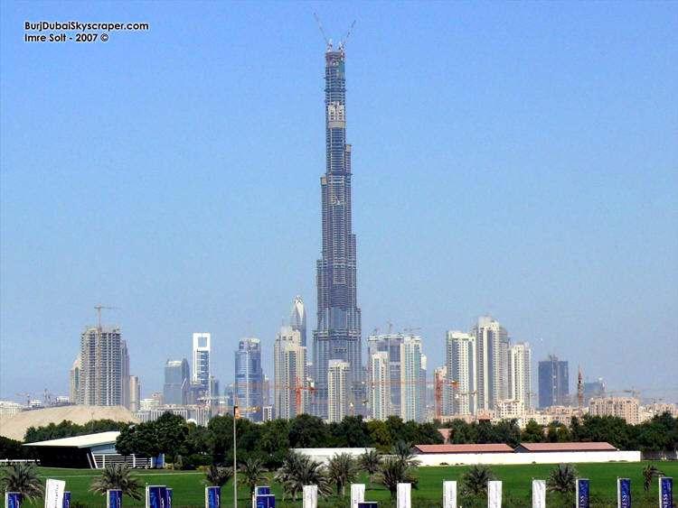 Torre Mas Alta del Mundo Burj Dubai