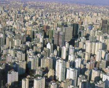 Ciudad de San Pablo en Brasil