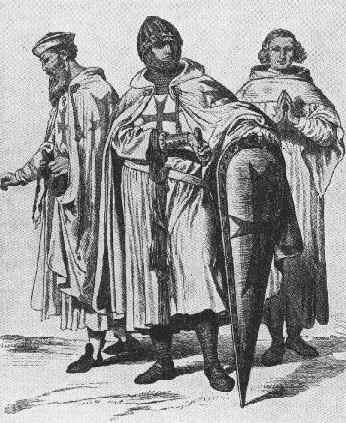 Ordenes Militares de la Edad Media Fundadas en Tierra Santa