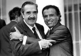 Pacto de Olivos Alfonsin Menem