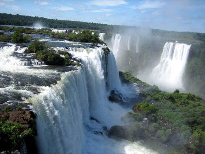 Maravilla Natural de Argentina Cataratas del Iguazu Historia