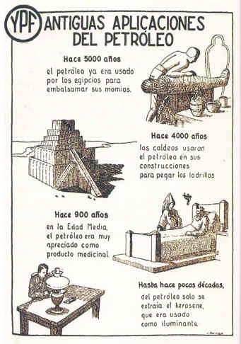 historia del petroleo argentino