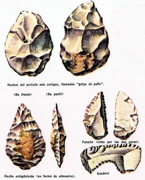 instrumentos d ela edad de piedra