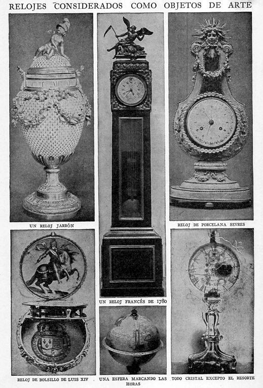 relojes antiguos de arte