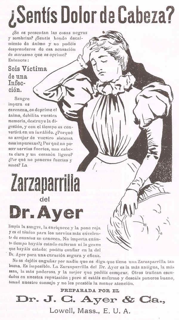 antiguas publicidades de remedios