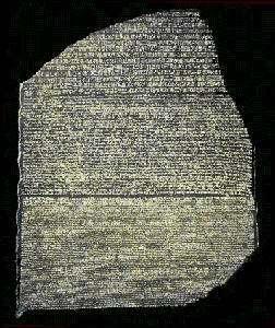 La Piedra Roseta Champollion descifro la escritura egipcia Behistun