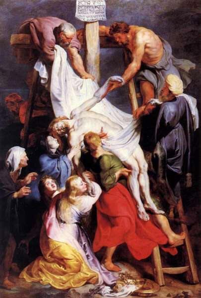 El Descenso de la Cruz Rubens