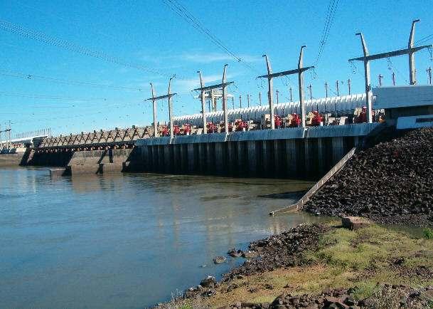 Represa de Salto Grande Hidroelecrica Caracteristicas Datos Tecnicos