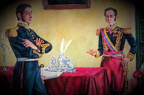 Entrevista de Guayaquil Acuerdos Entre San Martin Bolivar ...