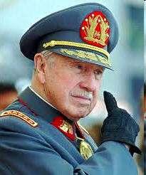 Biografia de Pinochet Dictador de Chile Presidente Golpista de Chile