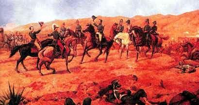 Batalla en el Virreinato Ayacucho