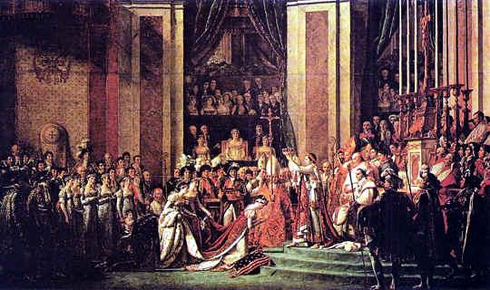 Napoleón es coronado emperador