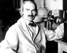 inventor estadounidense Lee De Forest