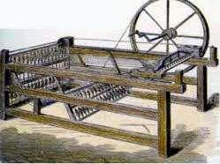 Invencion Telar de Lanzadera Volante John Key Revolucion Textil