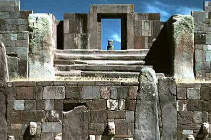 Tiahuanaco Ciudad Sagrada de Bolivia:la Cultura Aymará