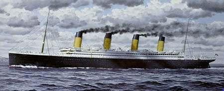Barco Titanic, hundido en 1912
