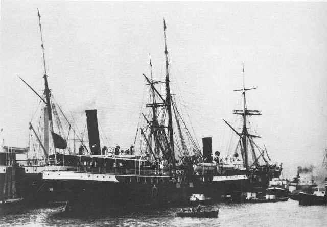 El Presidente Roca construido en los astilleros ingleses