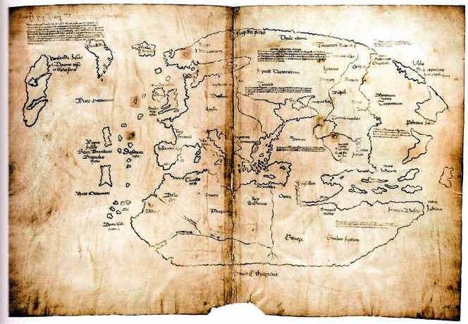Mapa de Vinland Historia y Misterio