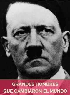 Hitler Adolf Lider aleman de la segunda guerra mundial