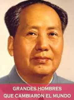 Mao tse Tung Lider chino Larga Marcha