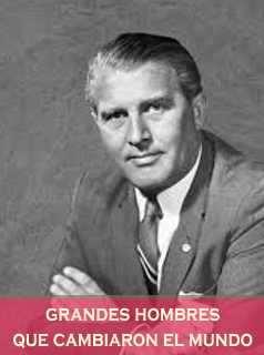 Von Braun Cientifico aleman creador del saturno 5