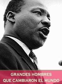 Luhter King Pastor defensor de los derechos de los negros en EE.UU.