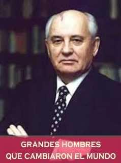 Mijael Gorbachov Ruso