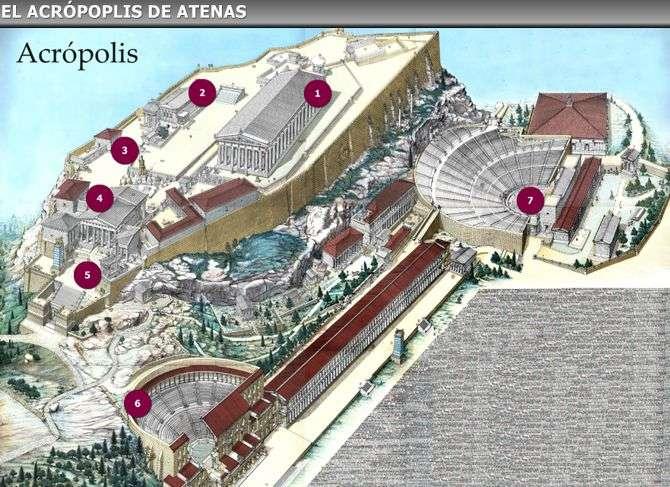 acropolis de atenas grecia
