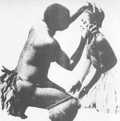 ritos en las tribus
