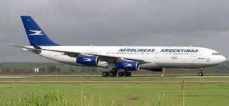 Aerolineas Argentinas Privatizada, avion