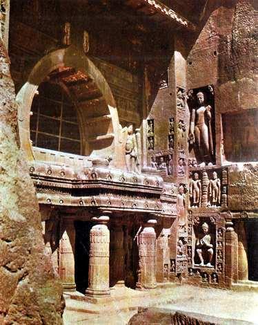 ruinas de ajanta en la india