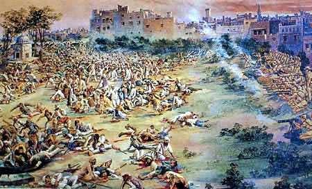 masacre de amritsar en la India