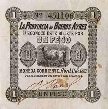 pesos argentino, anarquía monetaria