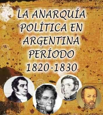 anarquia politica argentina