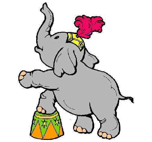 elefante en el circo