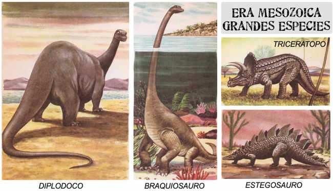 animales que habitaron el planeta