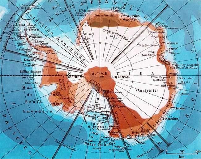 casquete polar antartico