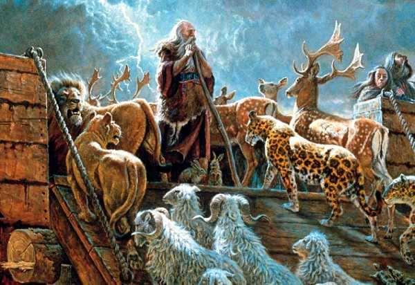 Historia del Arca de Noe Para Niños Cuento Bíblico Infantil ...
