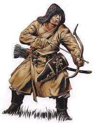 arquero mongol