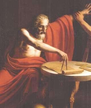 ARQUIMEDES , robo de oro de la corona
