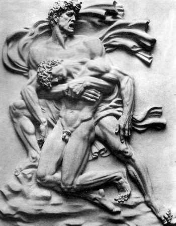 arte nazi idela del hombre ario